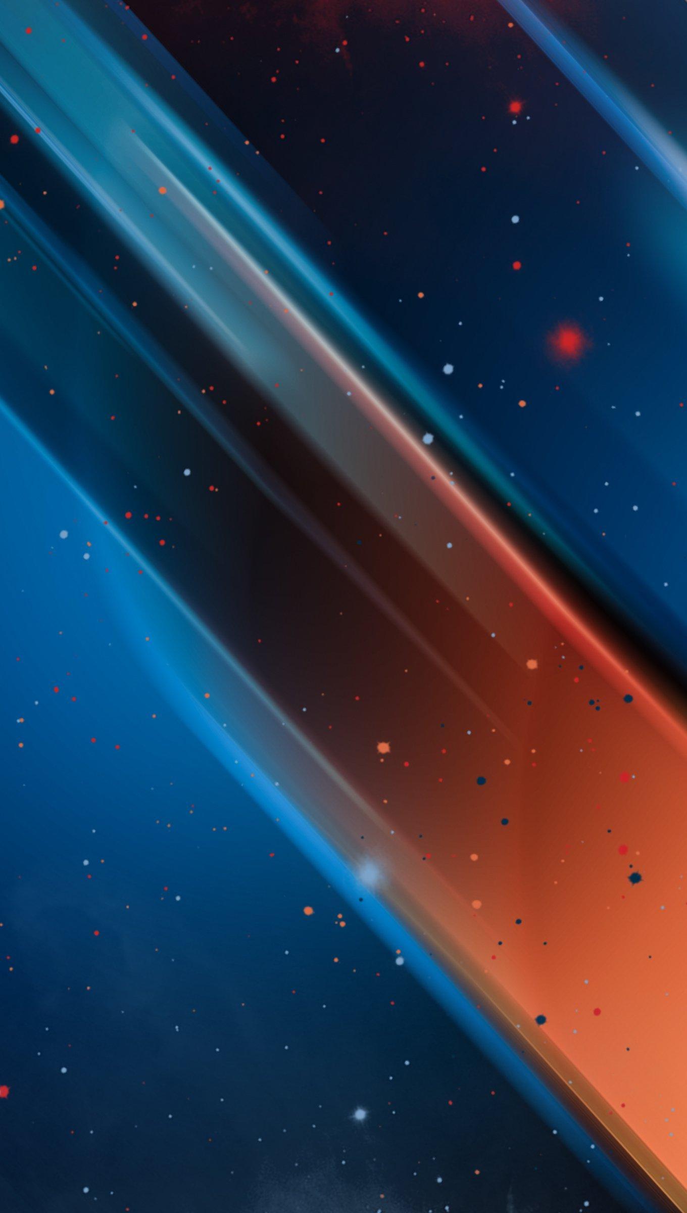 Fondos de pantalla Particulas y colores Vertical