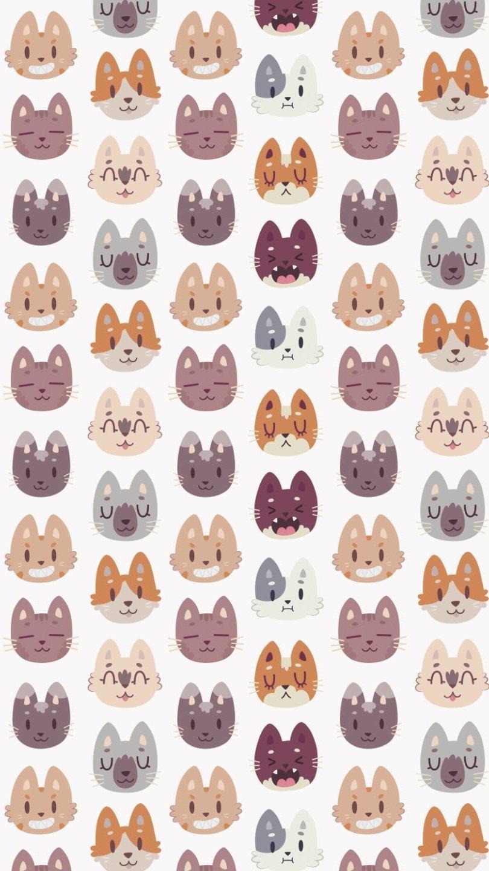 Wallpaper Animal Pattern Vertical