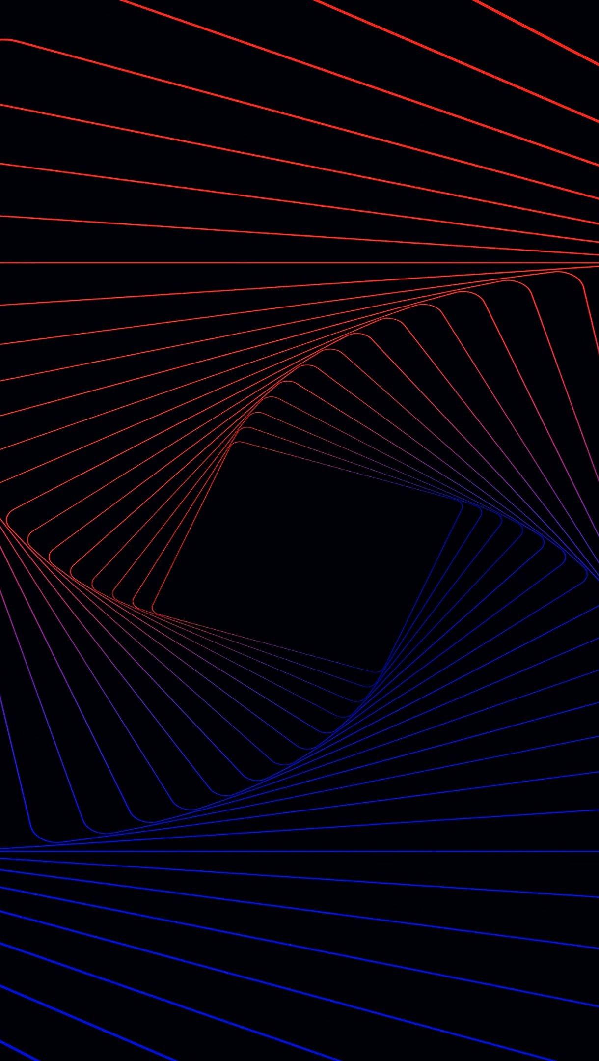 Wallpaper 3D Spiral pattern Vertical