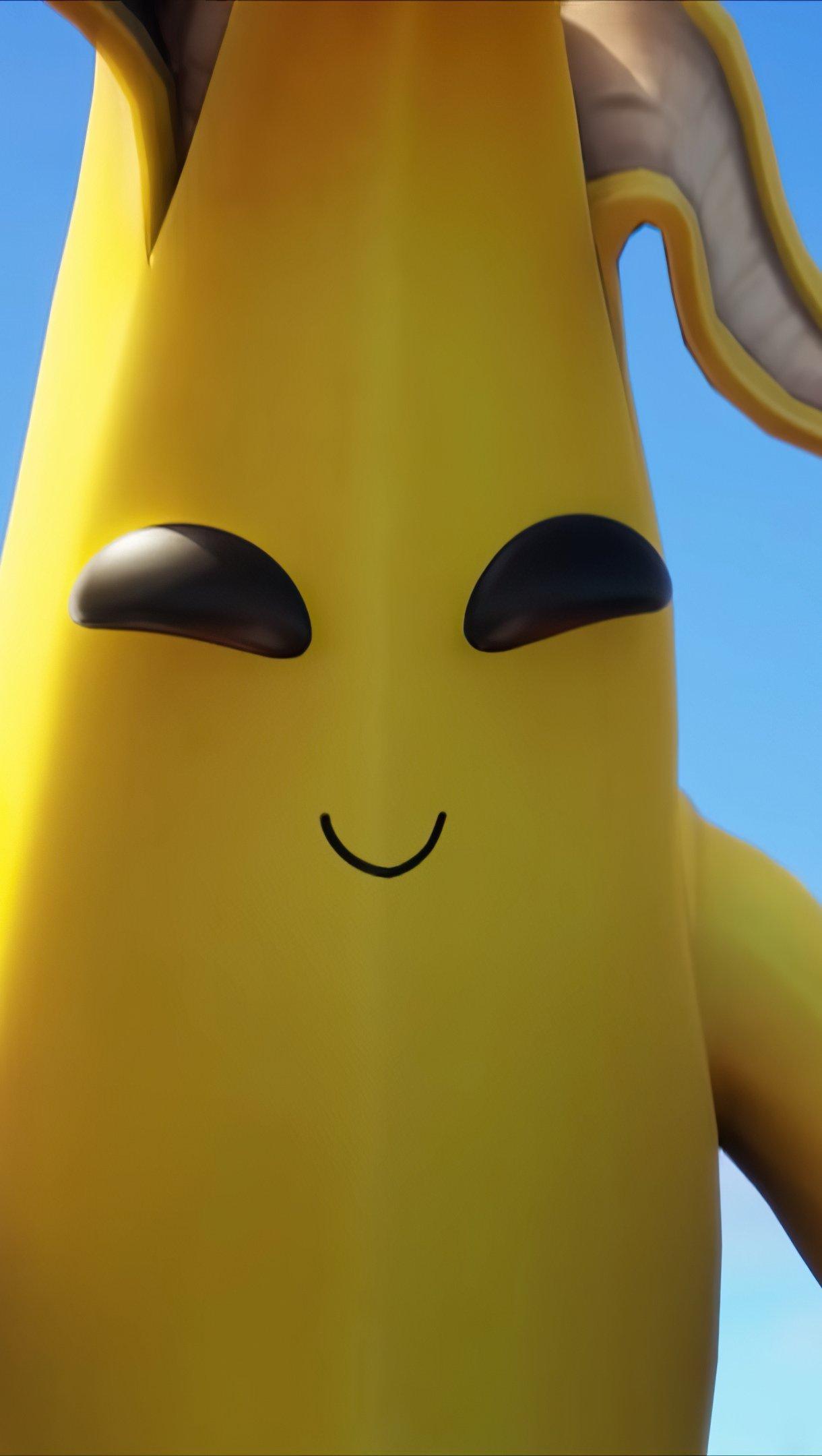 Fondos de pantalla Peely Banana Claw de Fortnite Vertical