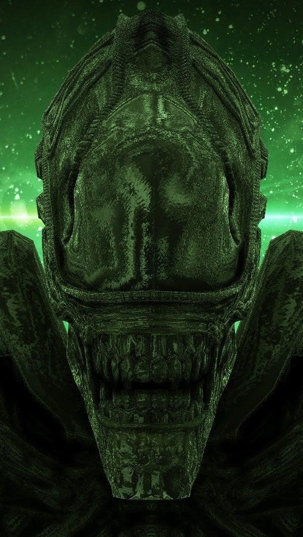 Wallpaper Alien movie Convenant Vertical