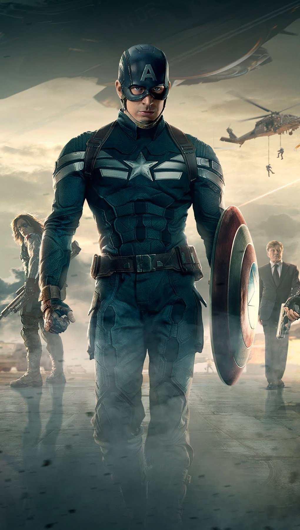 Fondos de pantalla Película Capitan America El soldado de invierno Vertical