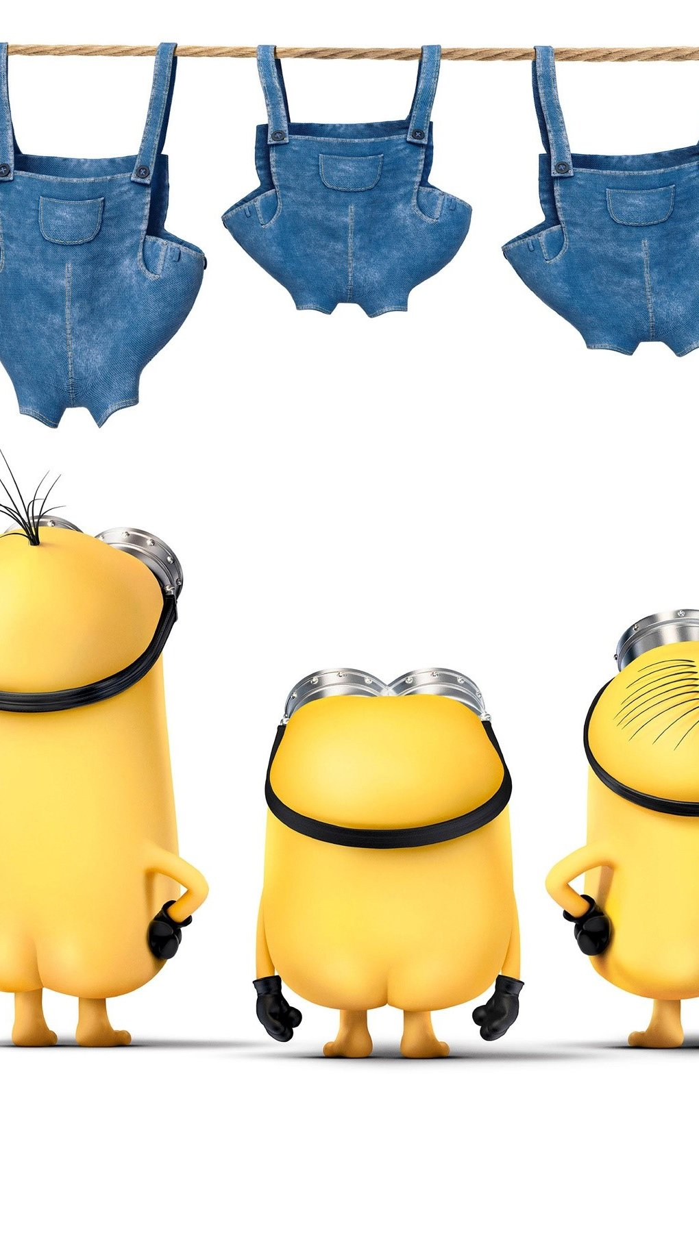 Wallpaper Minions movie Vertical