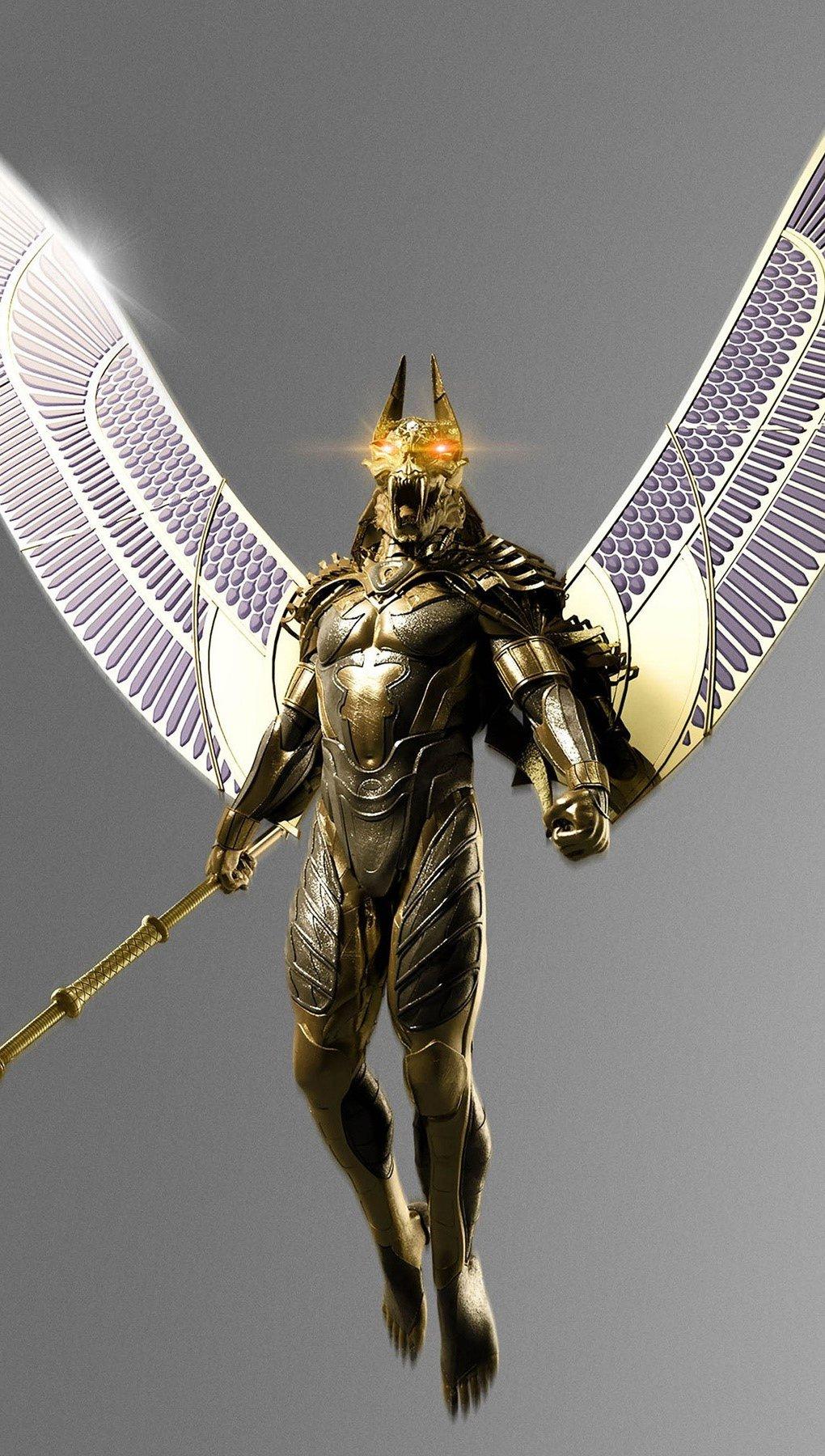Wallpaper Egyptian Gods movie Vertical