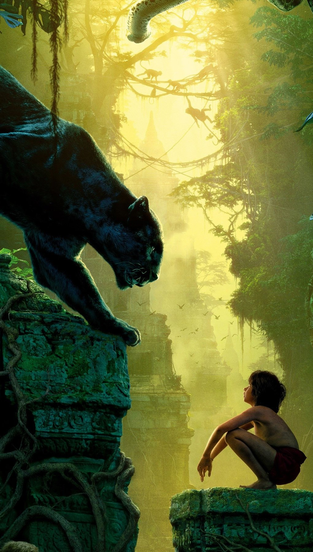 Wallpaper Movie The Jungle Book 2016 Vertical