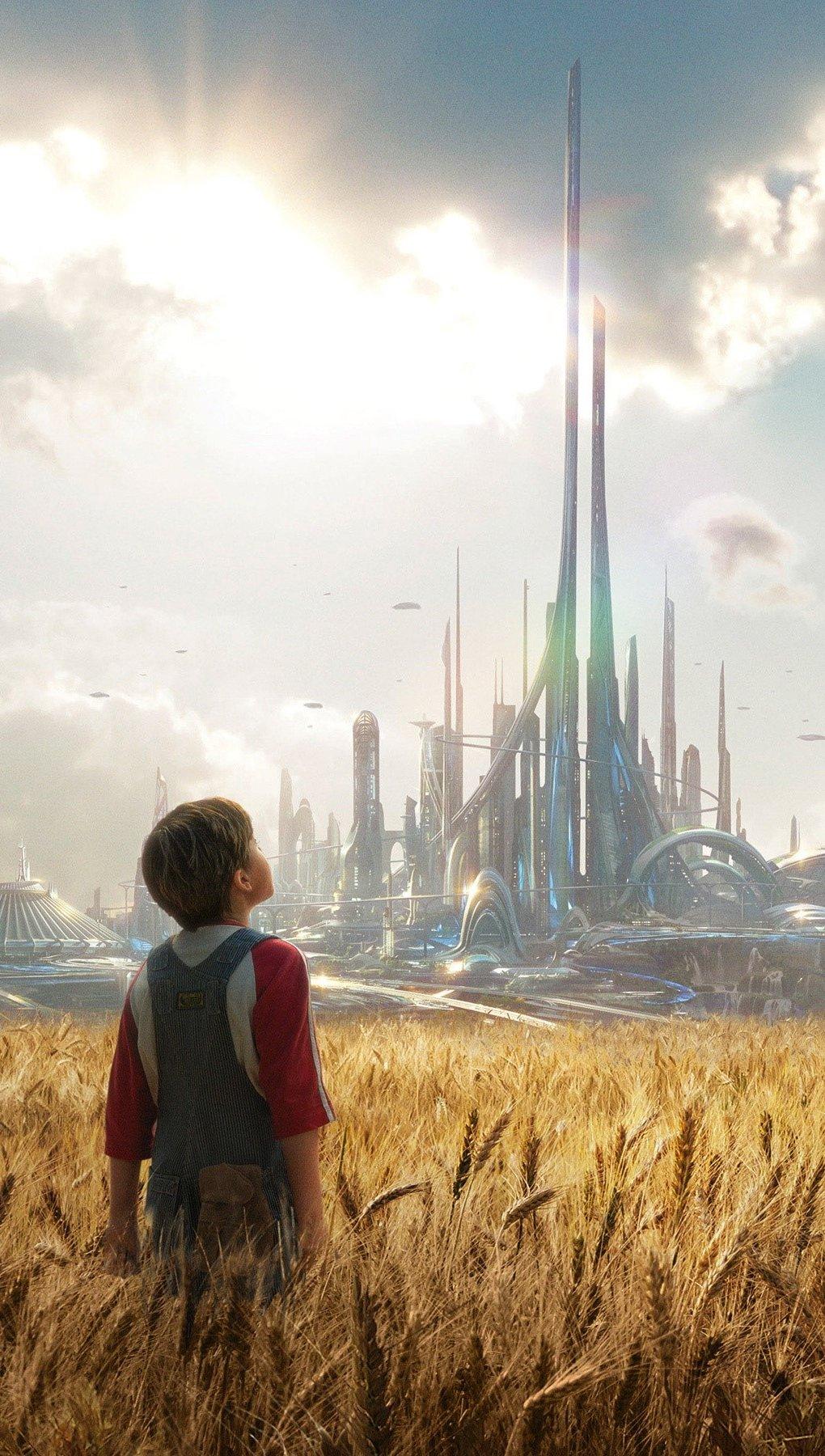 Fondos de pantalla Película El mundo del mañana Vertical