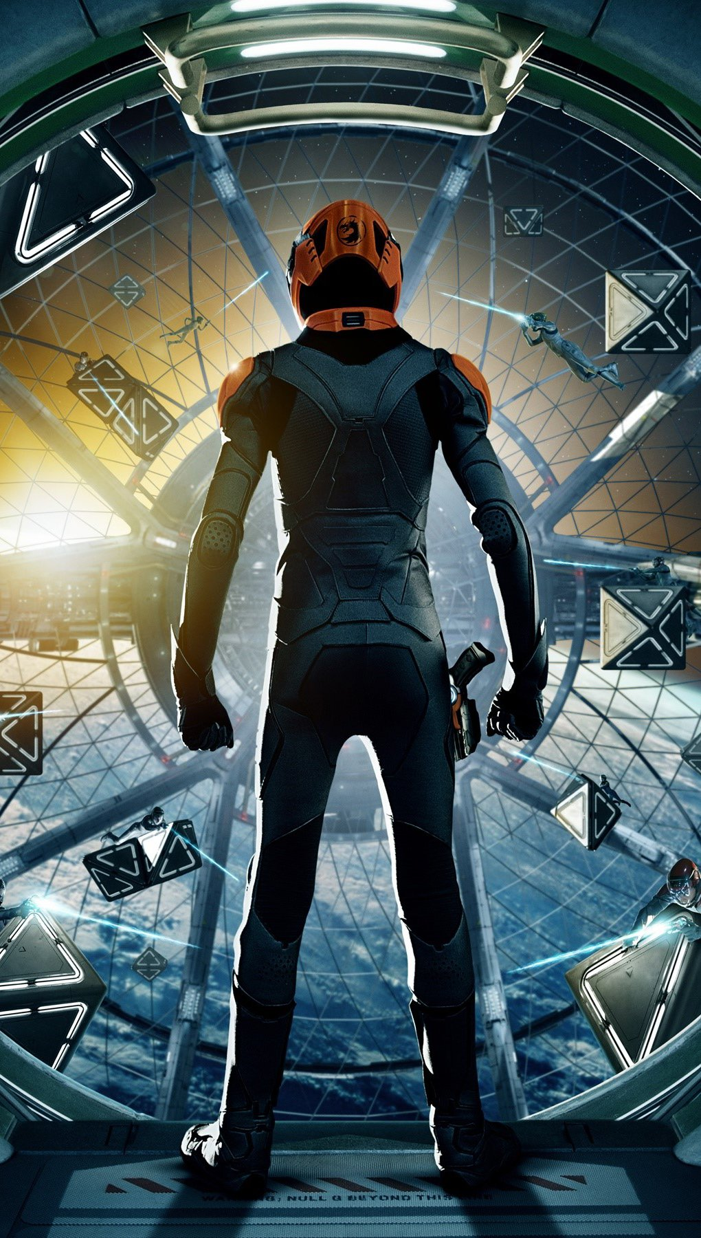 Wallpaper Movie Enders Game Vertical
