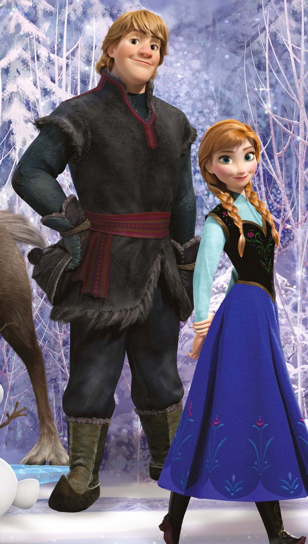 Wallpaper Frozen movie Vertical