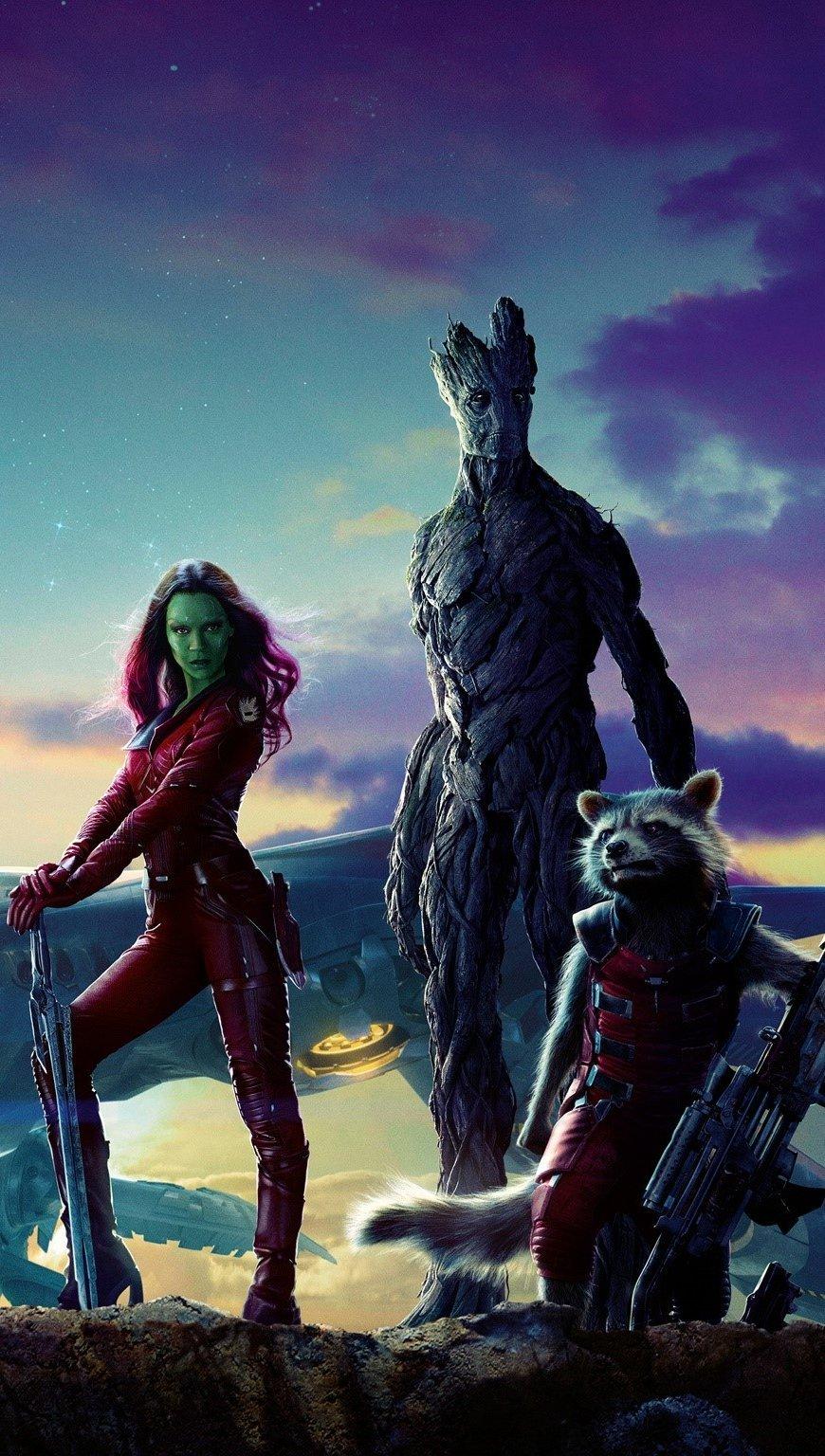 Fondos de pantalla Película Guardianes de la galaxia Vertical