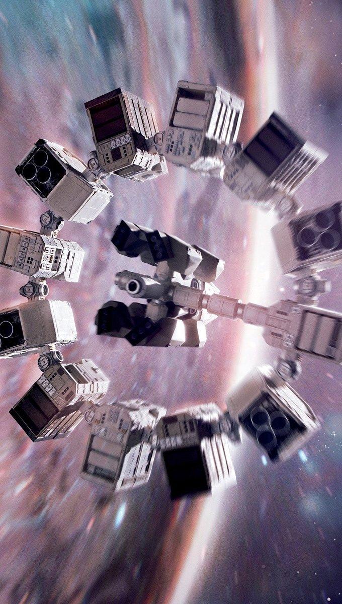 Wallpaper Interstellar movie Vertical