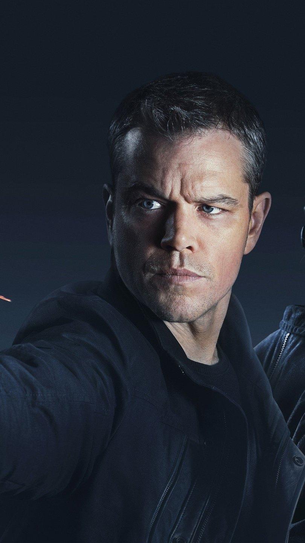 Wallpaper Jason Bourne Movie Vertical