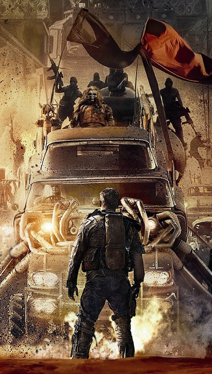 Wallpaper Mad Max Fury Road movie Vertical