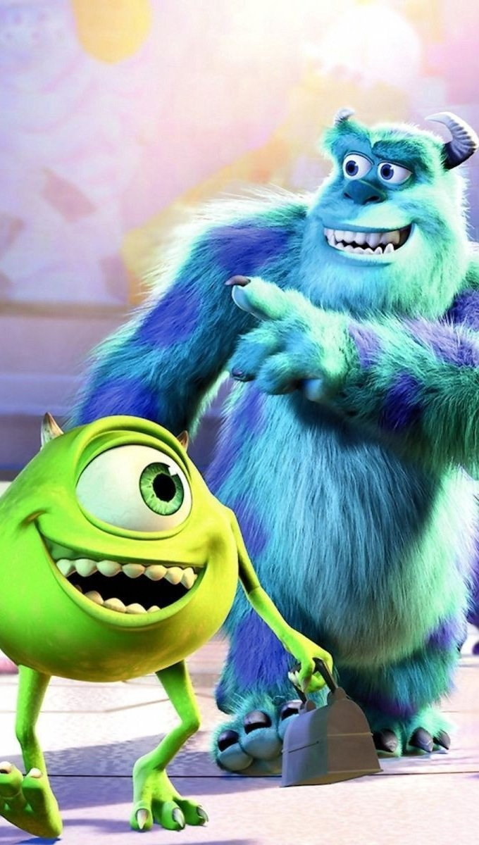 Fondos de pantalla Película Monsters university Vertical