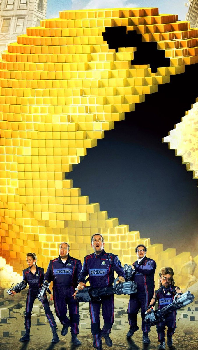 Wallpaper Pixels movie Vertical