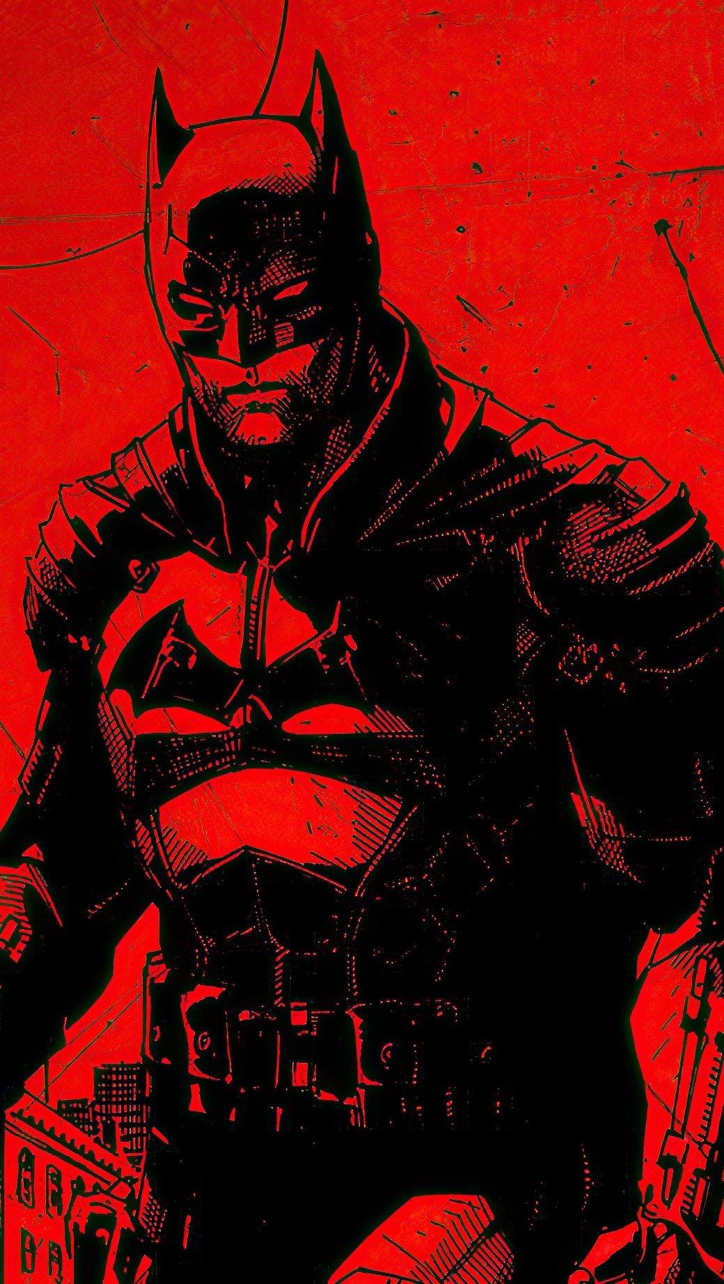 Wallpaper The Batman 2021 Movie Vertical