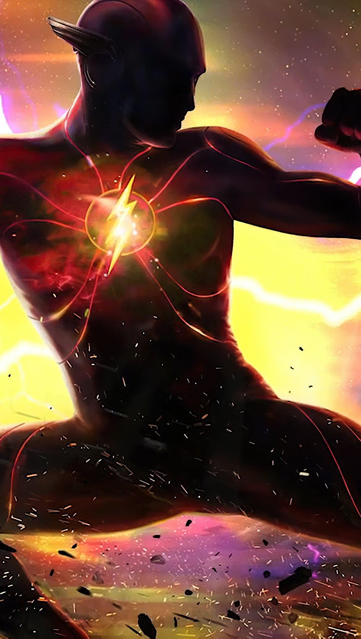 Fondos de pantalla Película The Flash Vertical