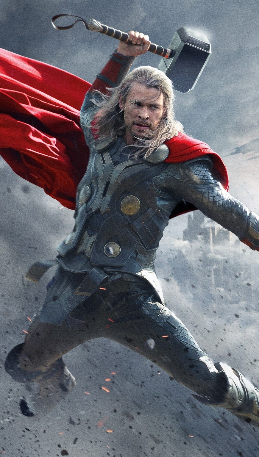 Wallpaper Thor 2 movie Vertical