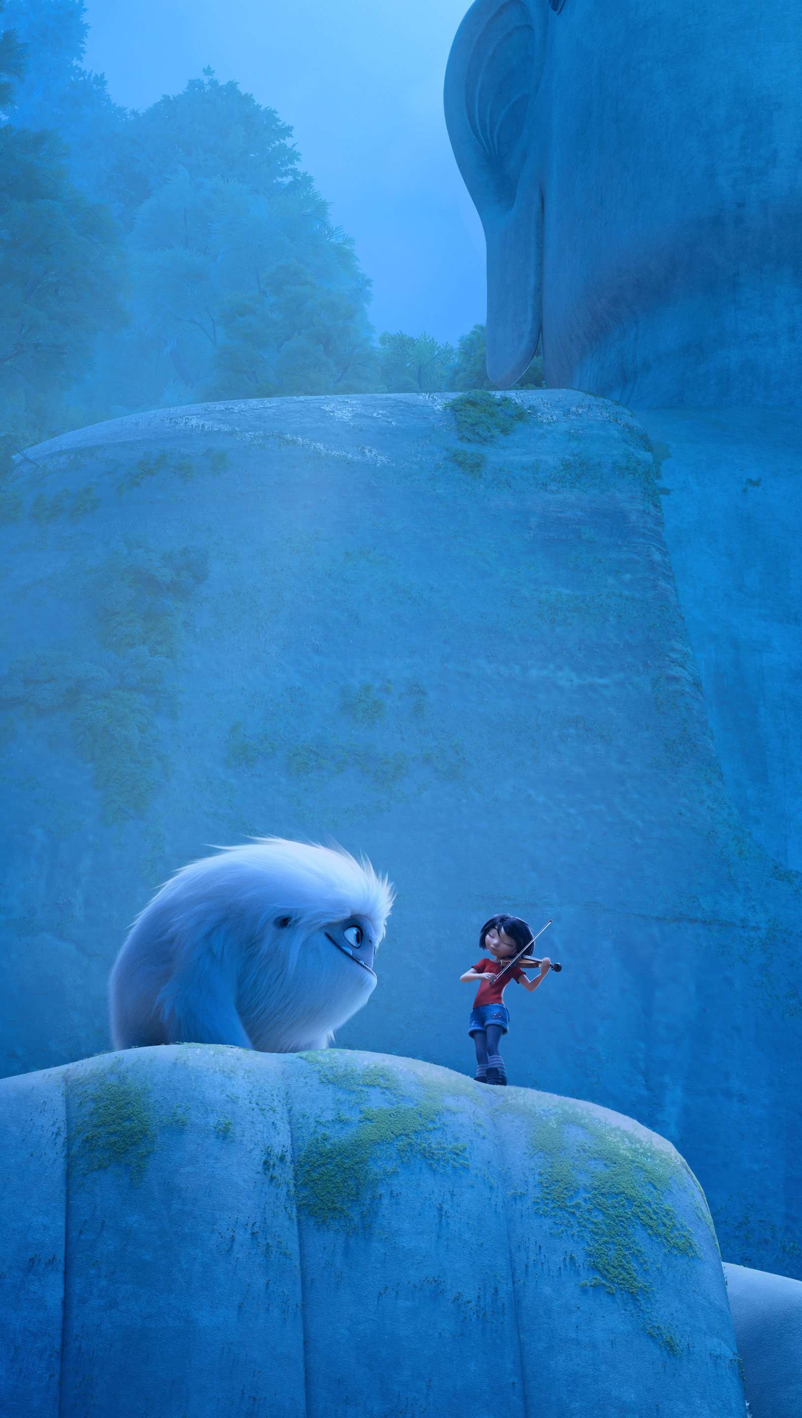 Wallpaper Abominable movie Vertical