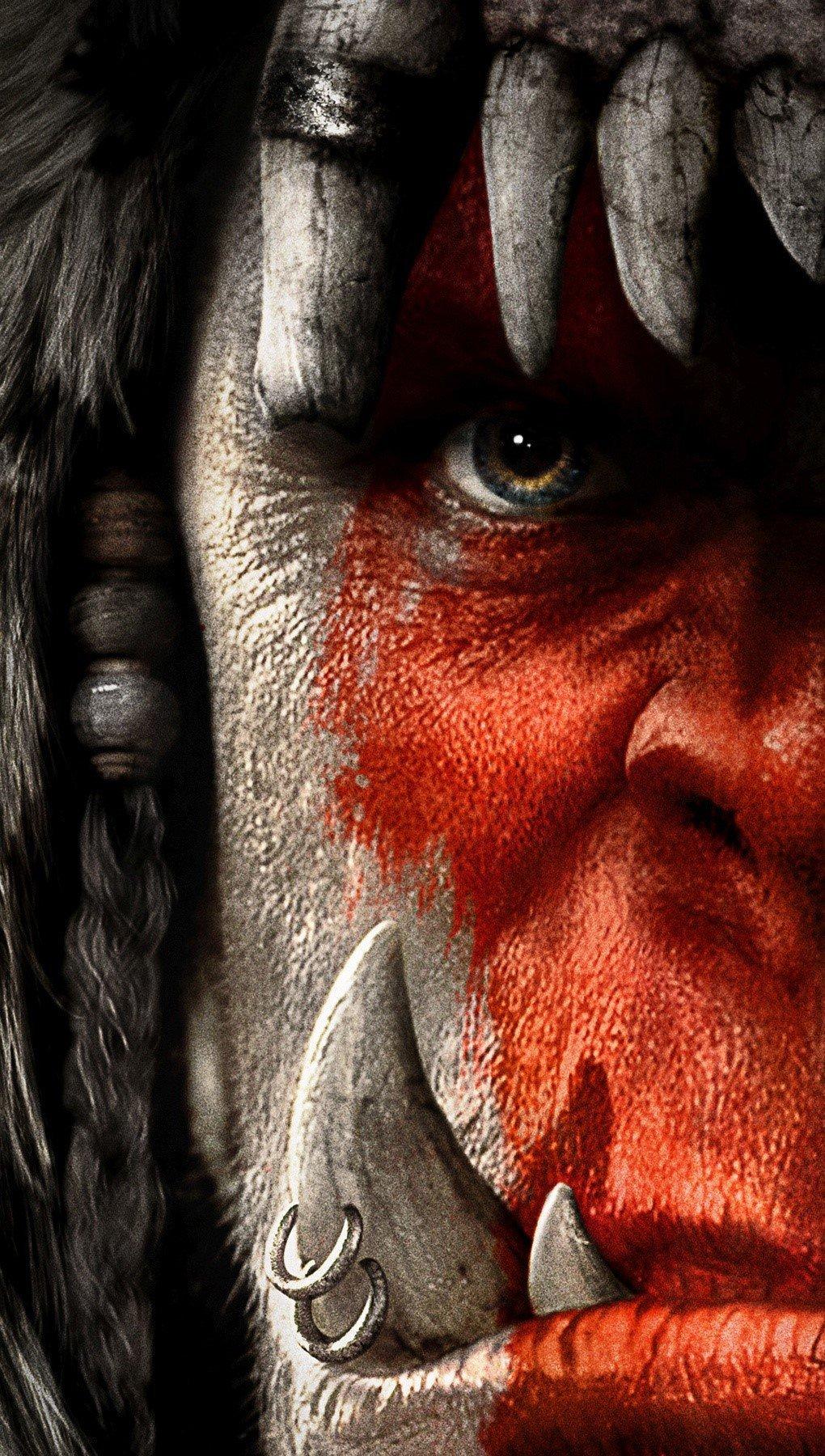 Wallpaper Warcraft movie Vertical