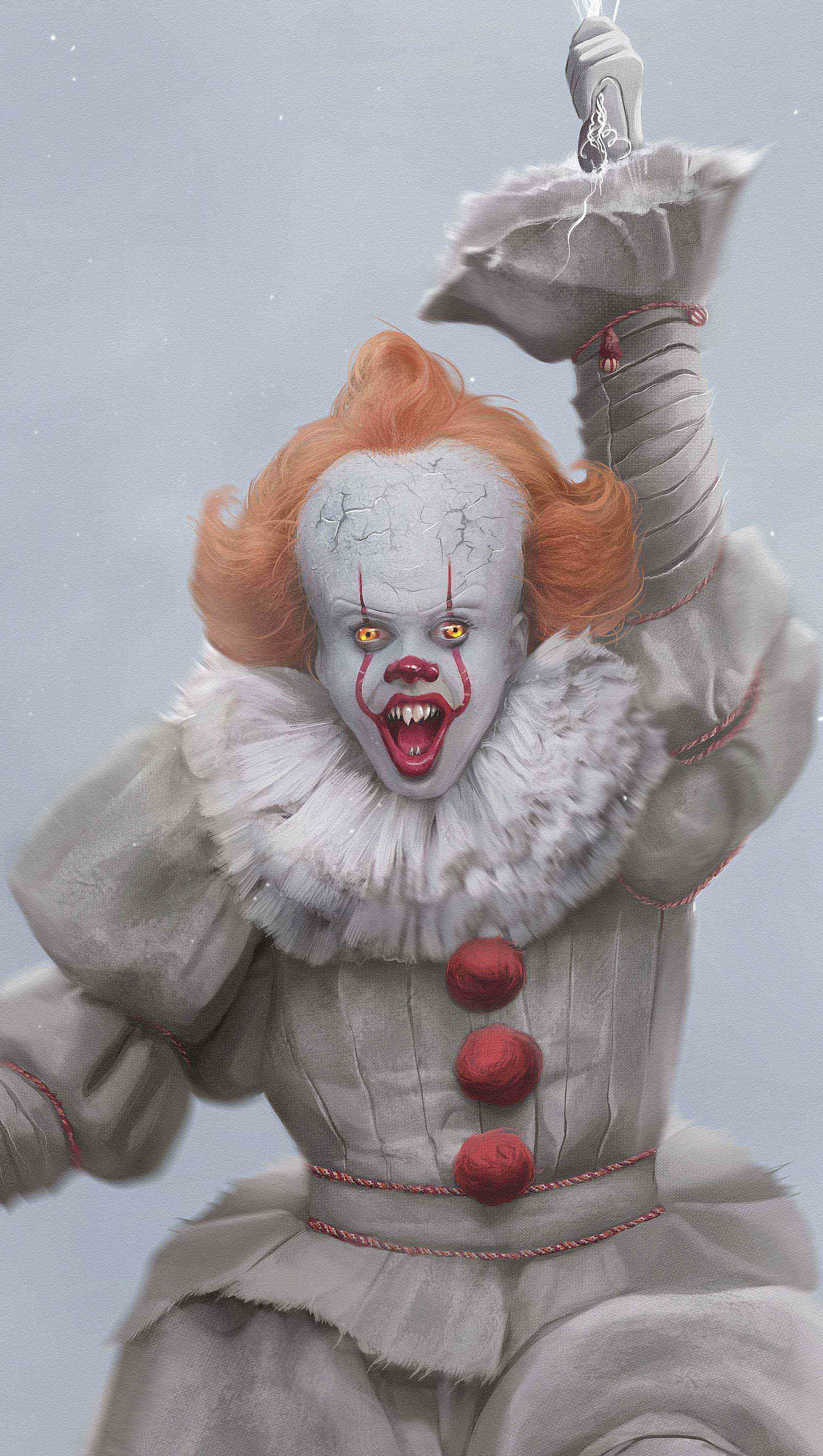 Wallpaper Pennywise Vertical