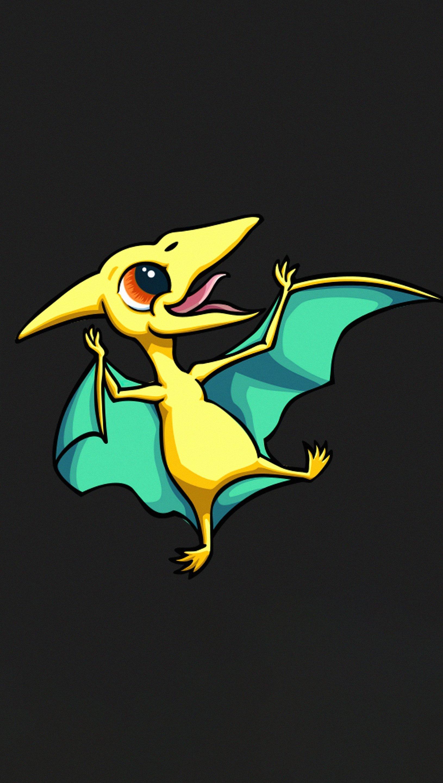 Fondos de pantalla Pequeño dragón Minimalista Vertical