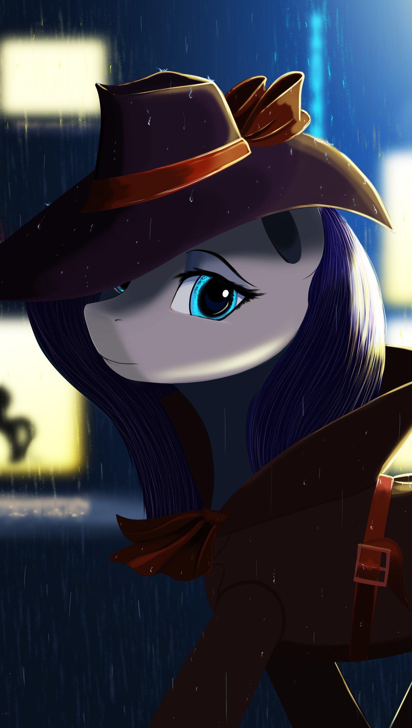 Fondos de pantalla Pequeño Pony Detective Vertical