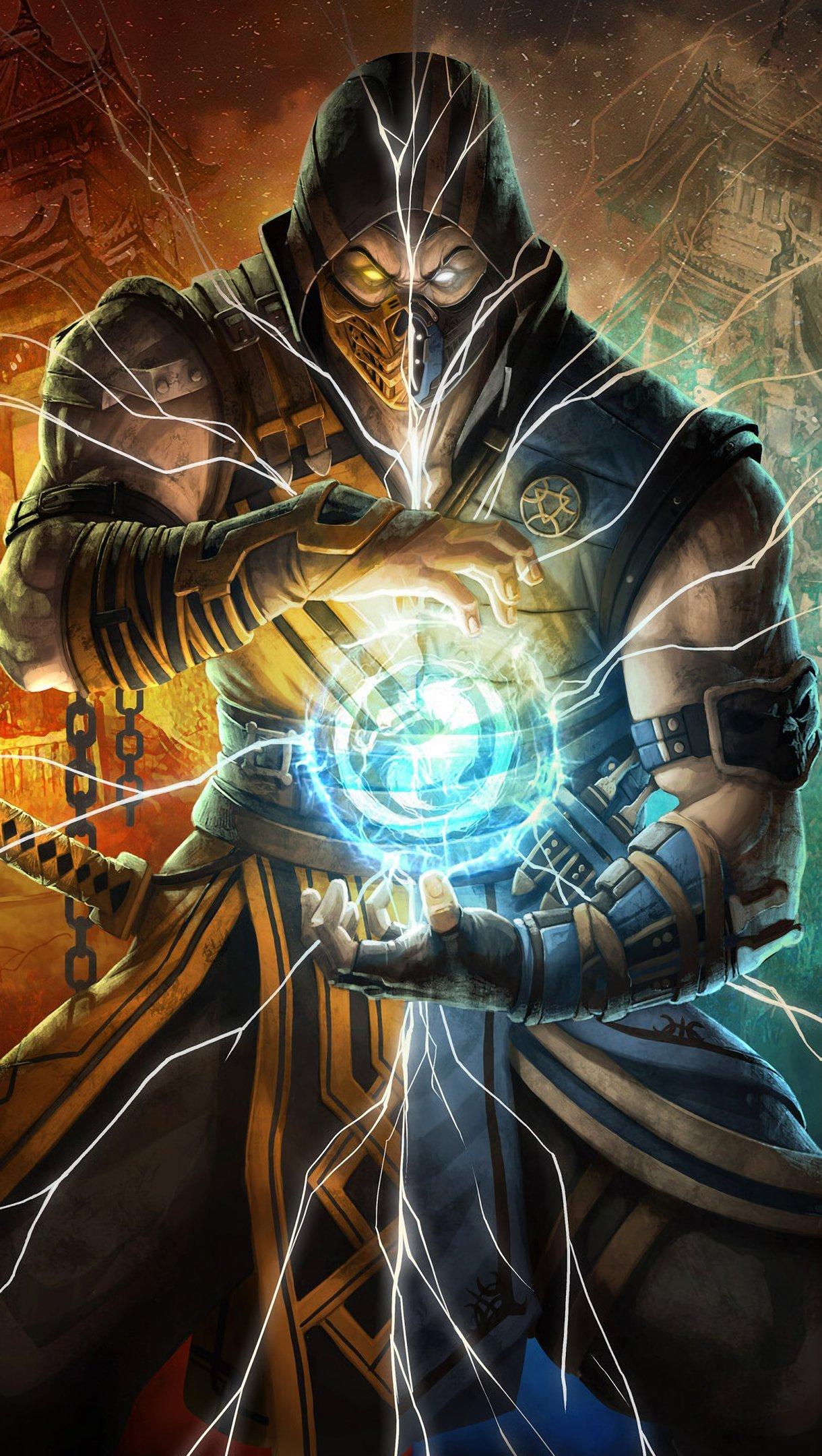 Fondos de pantalla Personaje de Mortal Kombat Scorpion Vertical