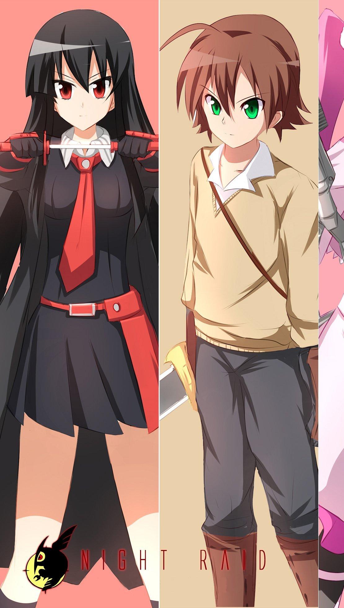 Fondos de pantalla Anime Personajes Akame ga Kill! Vertical
