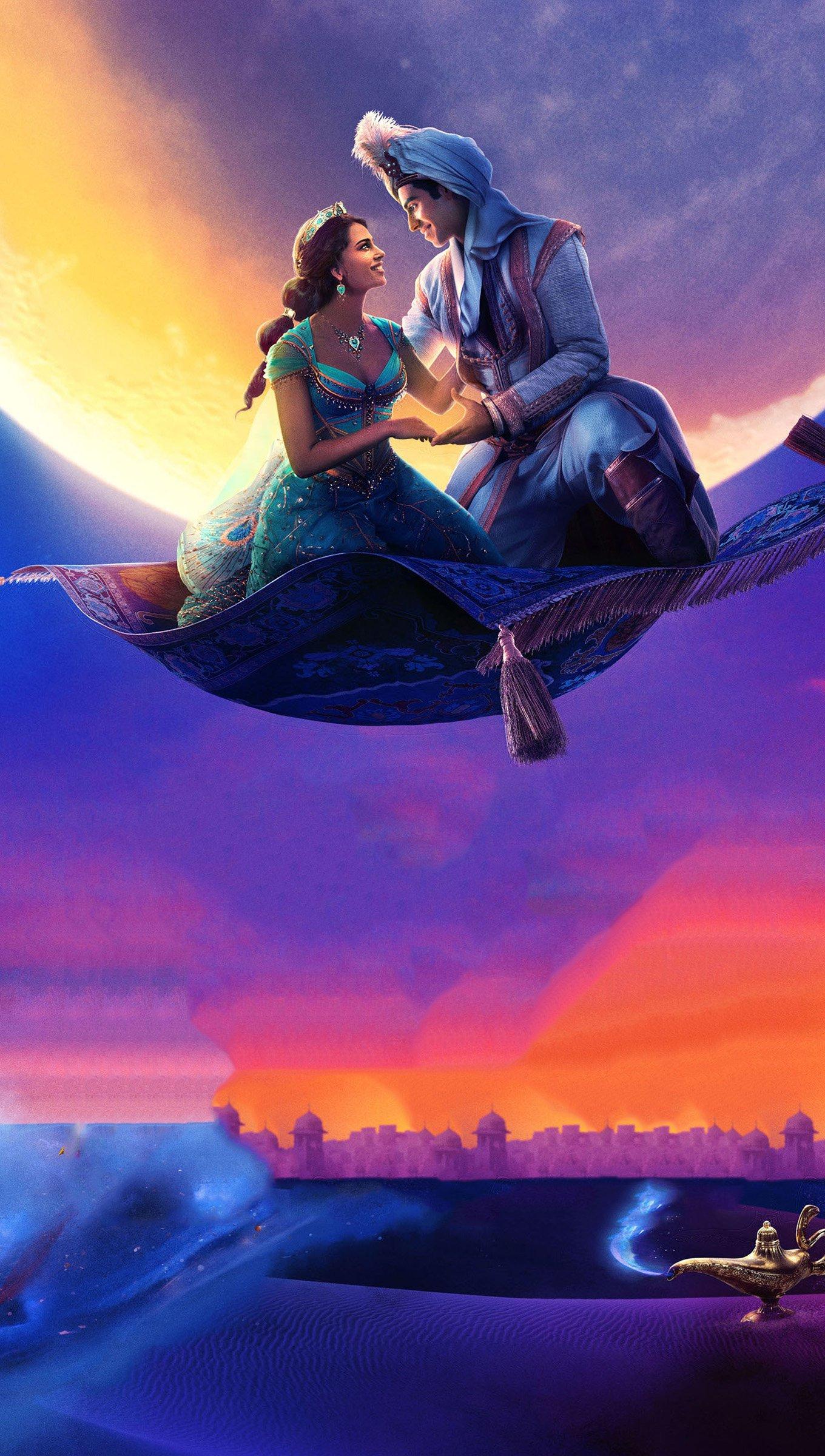 Fondos de pantalla Personajes de Aladin Vertical
