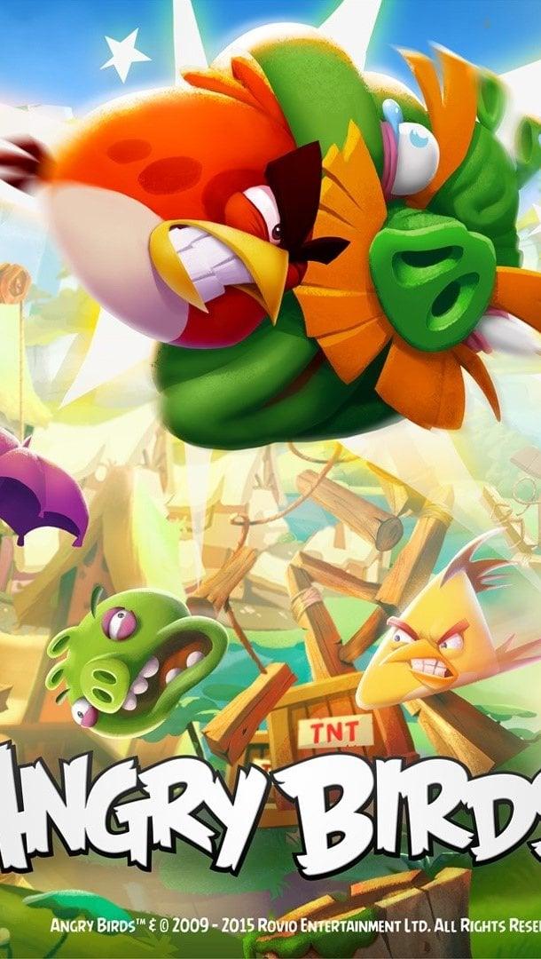 Fondos de pantalla Personajes de Angry Birds 2 Vertical