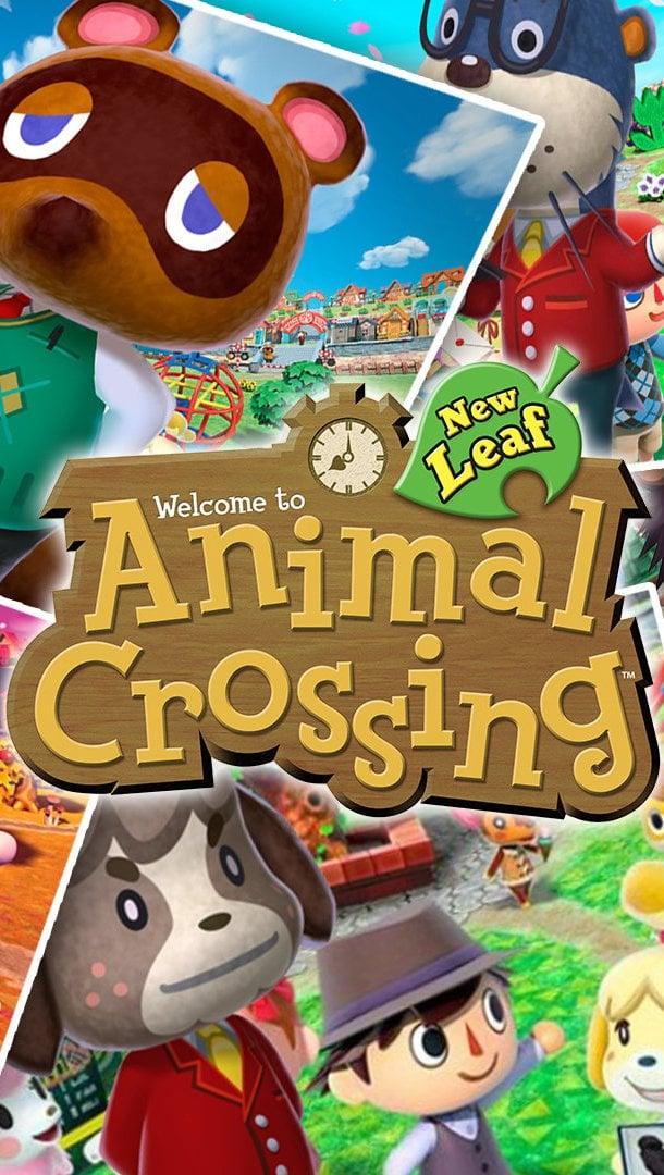 Fondos de pantalla Personajes de Animal Crossing Vertical
