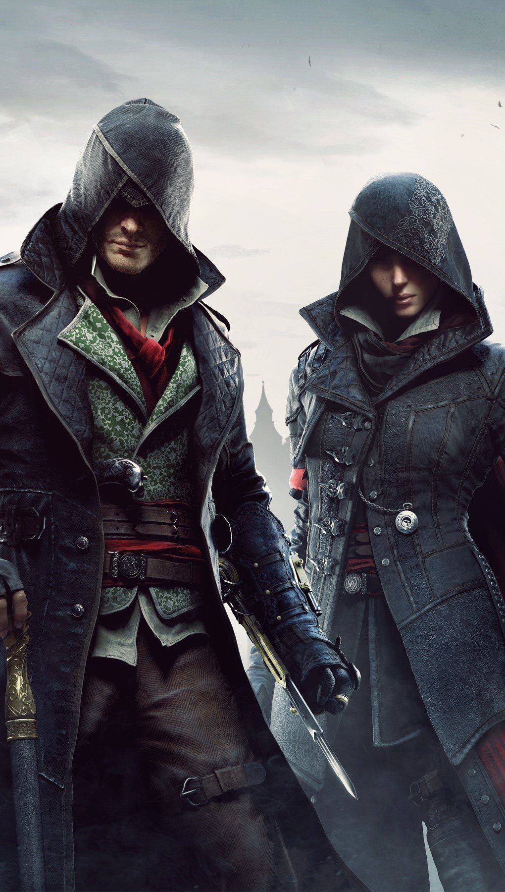 Wallpaper Characters of Assassins Creed Syndicate Vertical