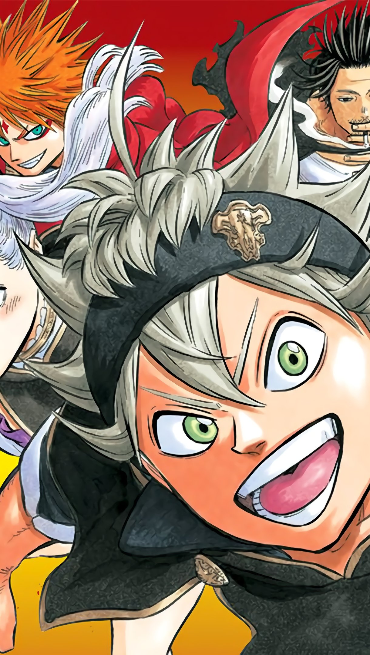 Anime Wallpaper Characters from Black Clover Vertical