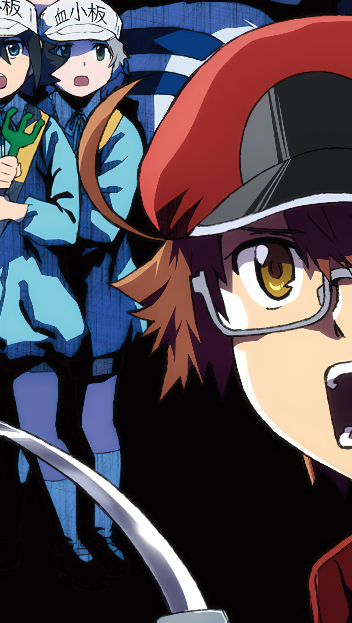 Anime Wallpaper Characters from Cells at work: Code Black Vertical