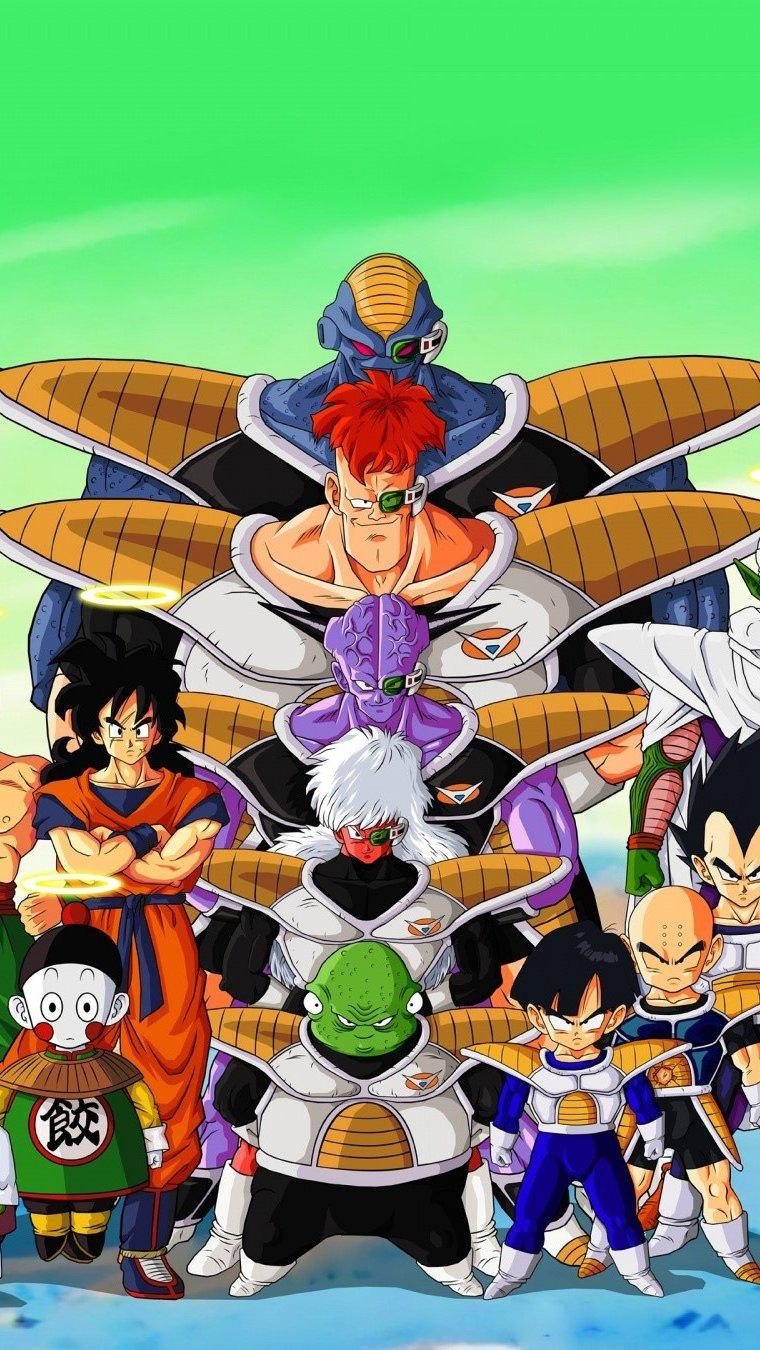 Fondos de pantalla Anime Personajes de Dragon Ball Z Vertical