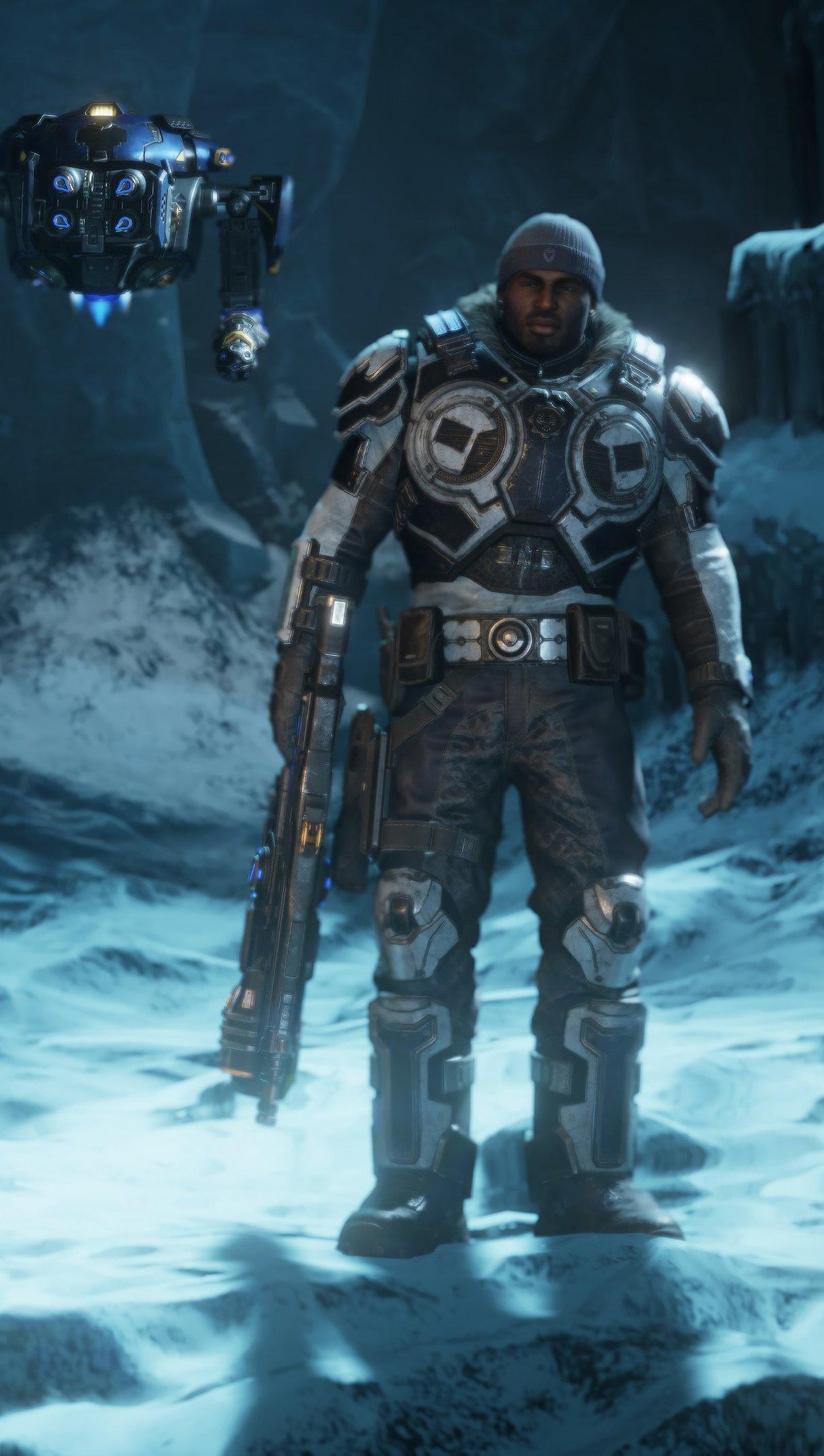 Fondos de pantalla Personajes de Gears of War 5 Vertical