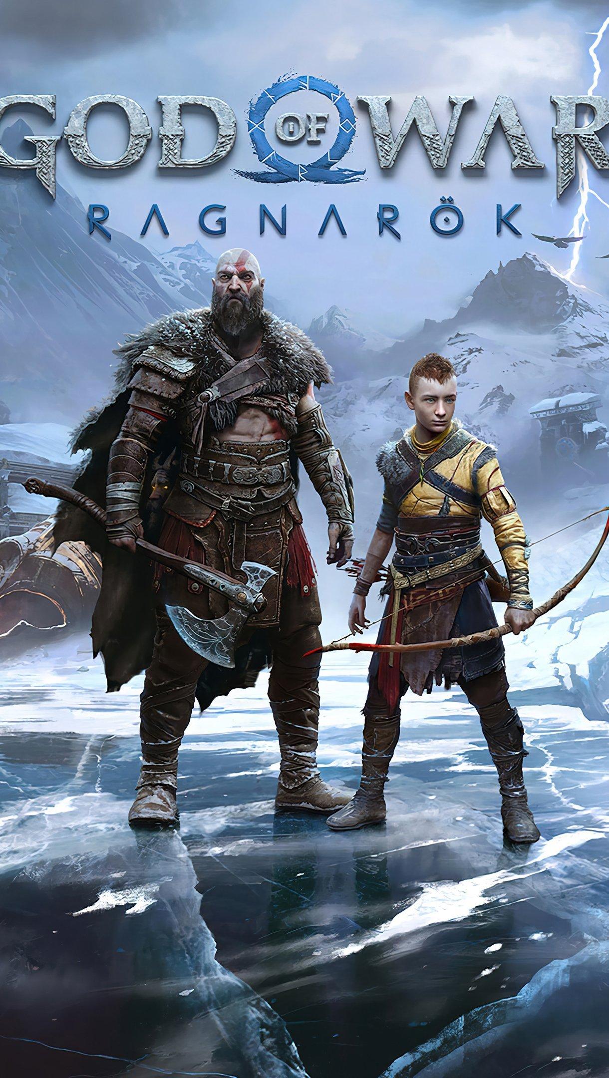 Fondos de pantalla Personajes de God of War Ragnrok Vertical