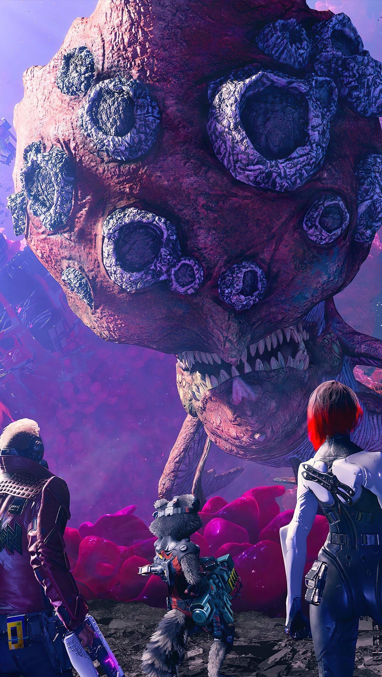 Fondos de pantalla Personajes de Guardianes de la galaxia juego Vertical