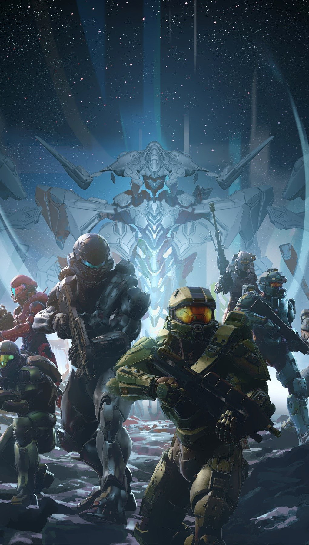 Wallpaper Characters of Halo 5 Guardians Vertical