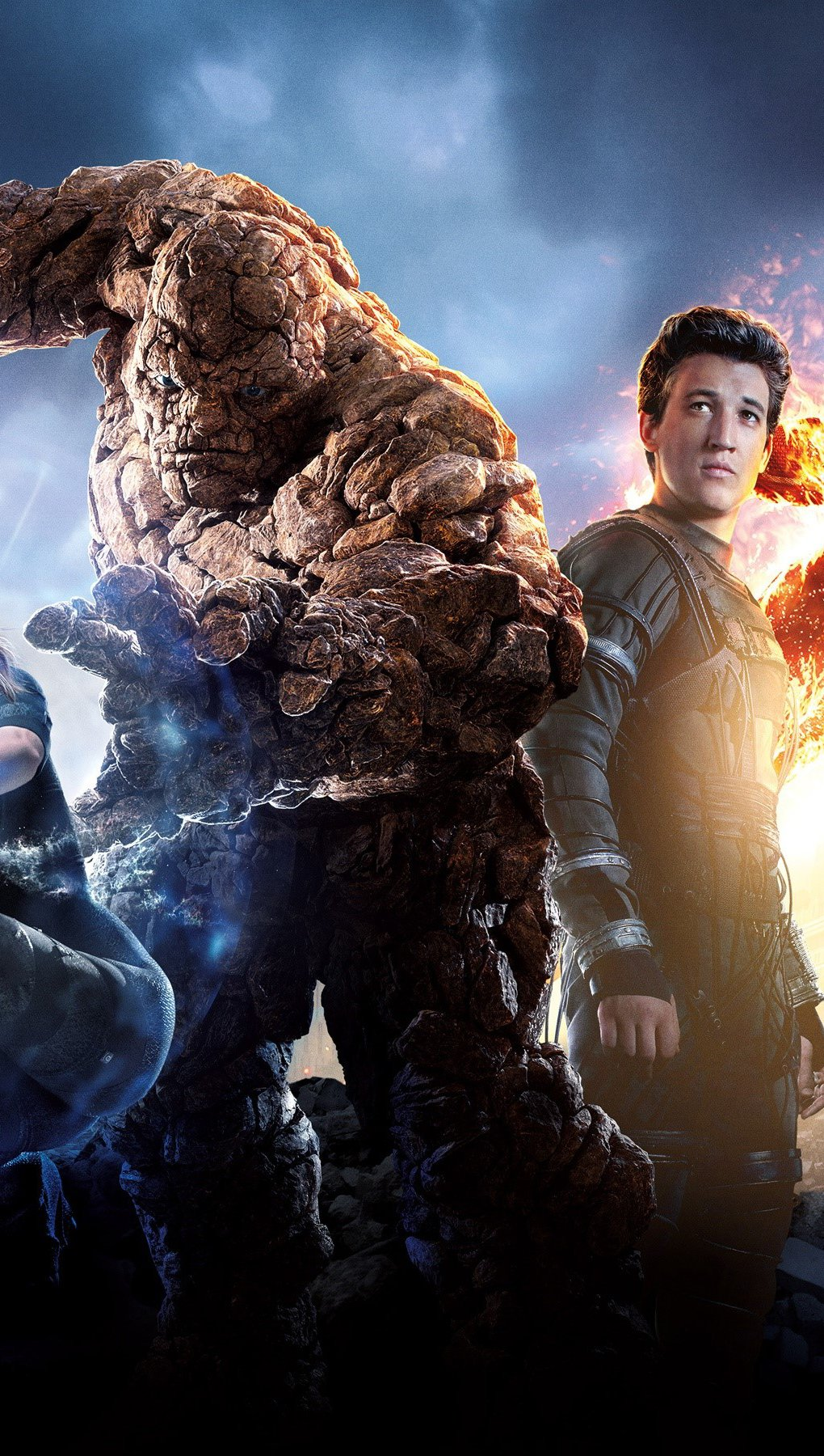 Wallpaper Characters of the Fantastic Four Vertical