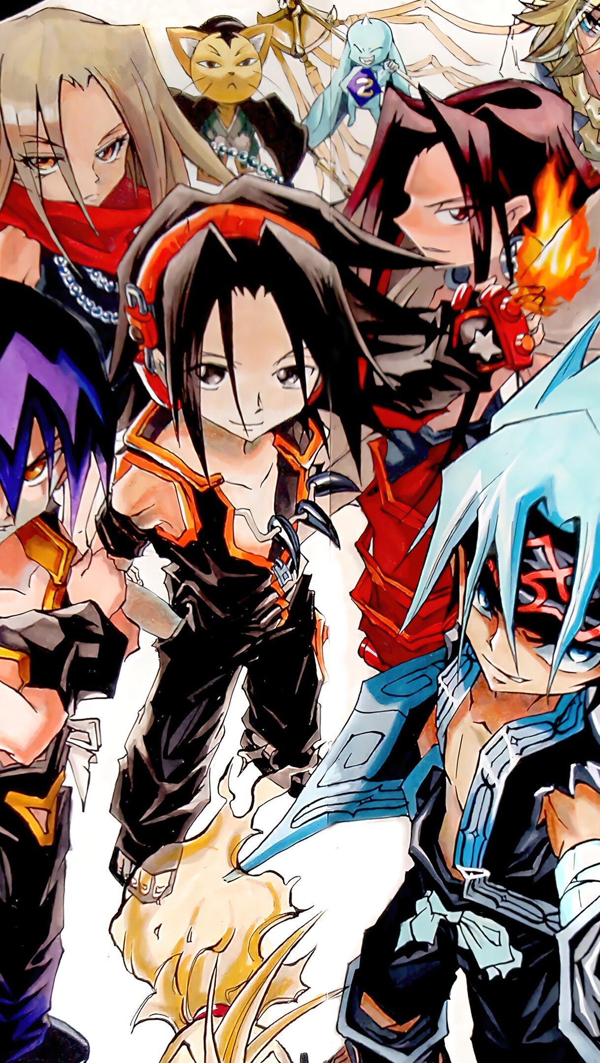 Anime Wallpaper Shaman King Characters Vertical