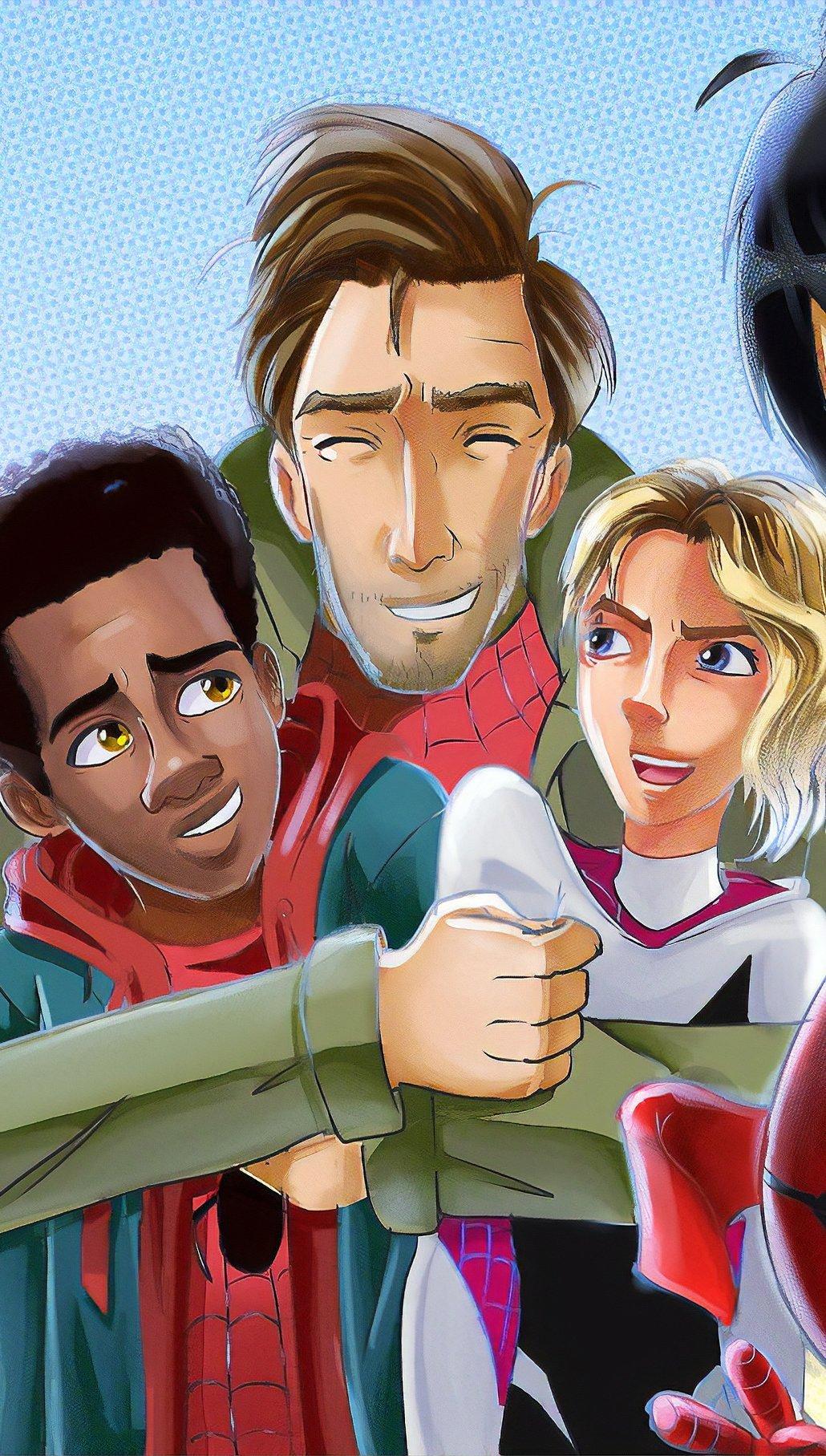 Fondos de pantalla Personajes de Spider-Man: Un nuevo universo Vertical