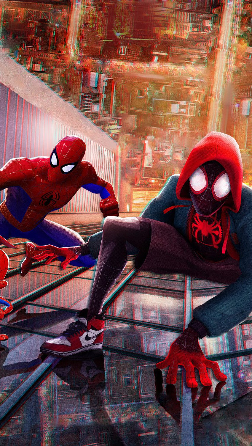 Wallpaper Characters Spider-Man: Into the Spider-Verse Vertical