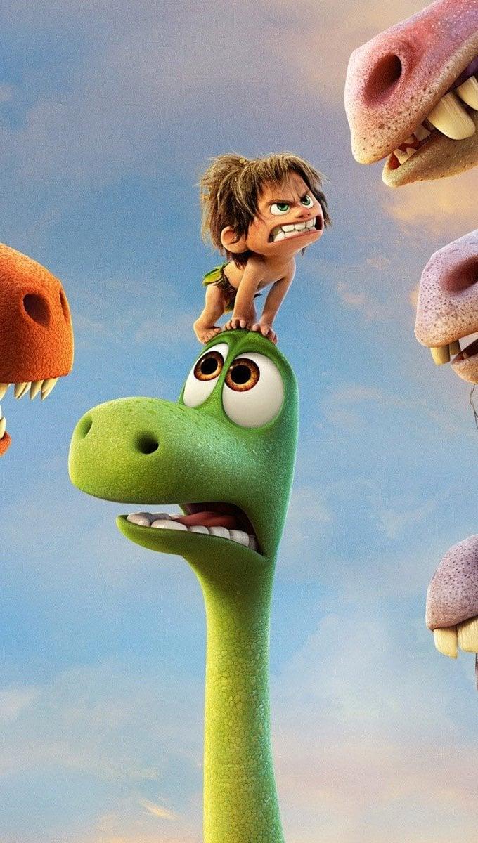 Fondos de pantalla Personajes de Un gran dinosaurio Vertical