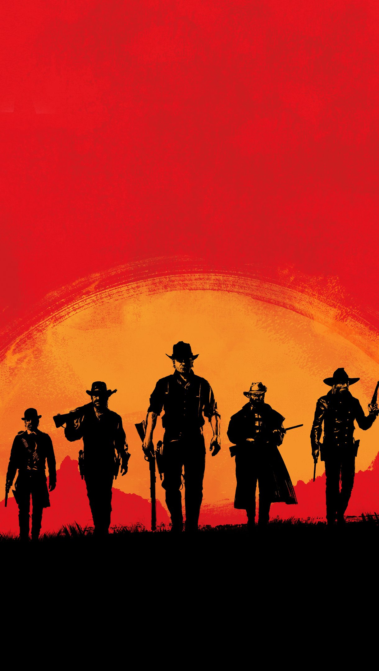 Wallpaper Characters Red Dead Redemption 2 Vertical