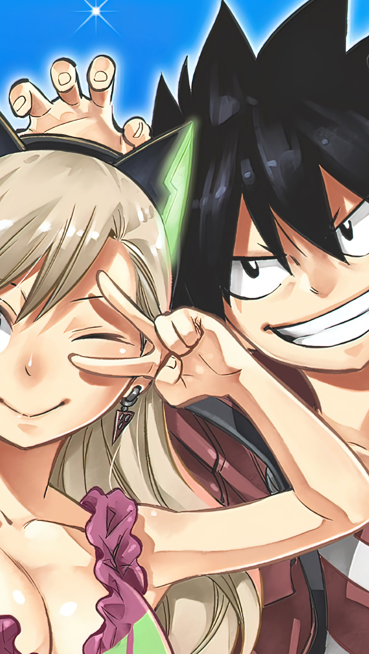 Fondos de pantalla Anime Personajes Shiki y Rebecca de Edens Zero Vertical