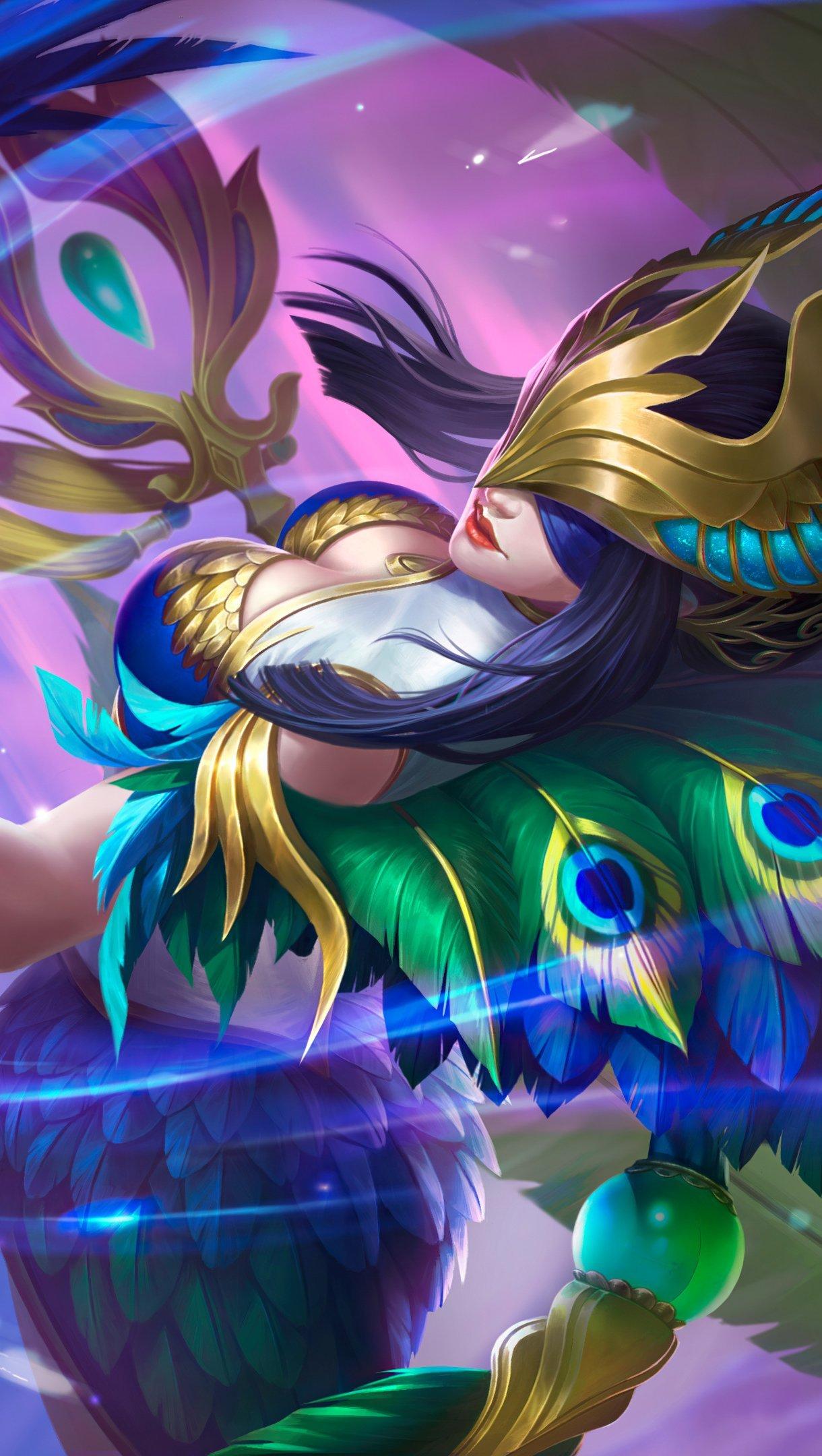Fondos de pantalla Pharsa Skin de League of Legends Vertical