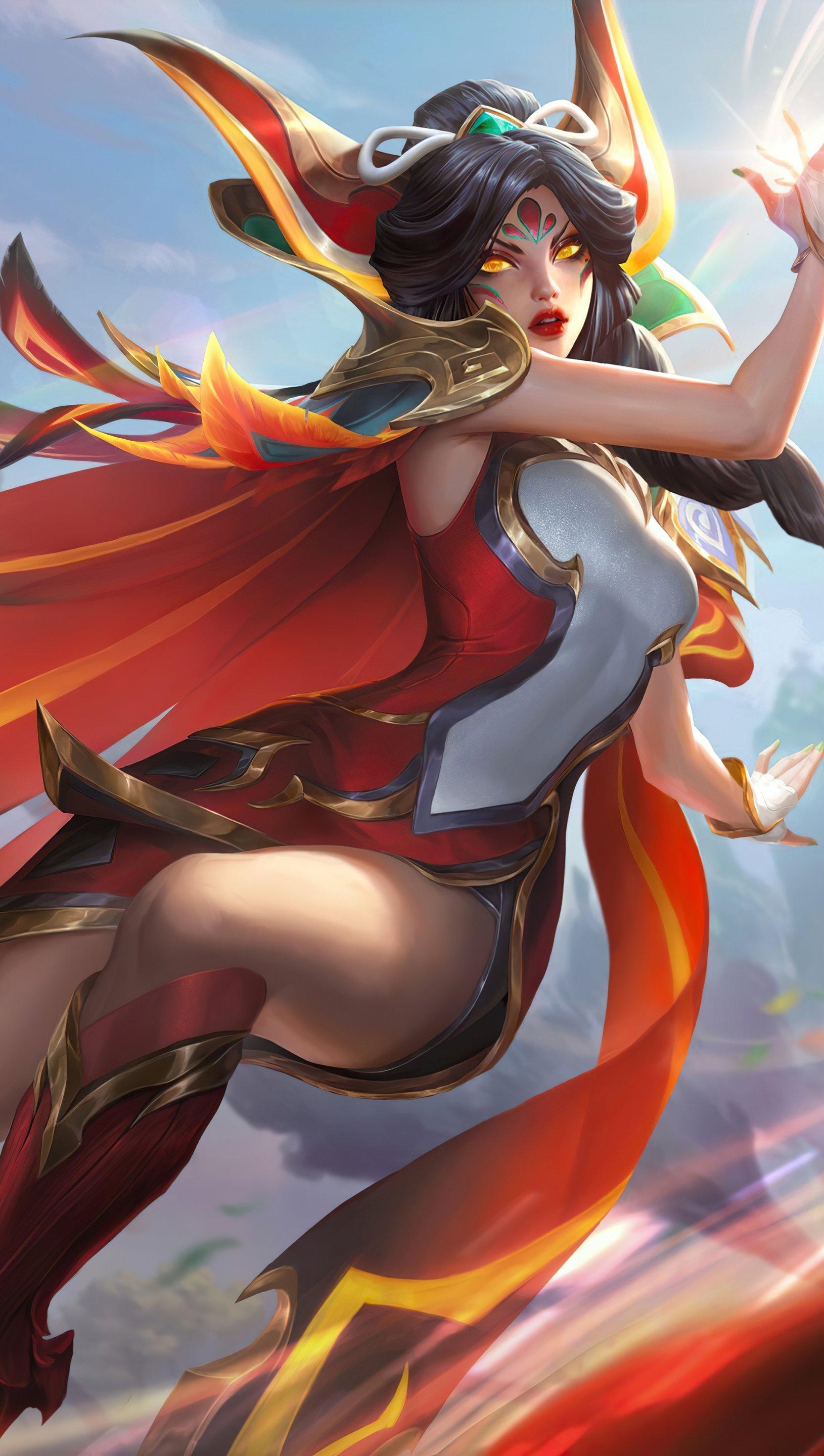 Fondos de pantalla Phoenix League of Legends Vertical