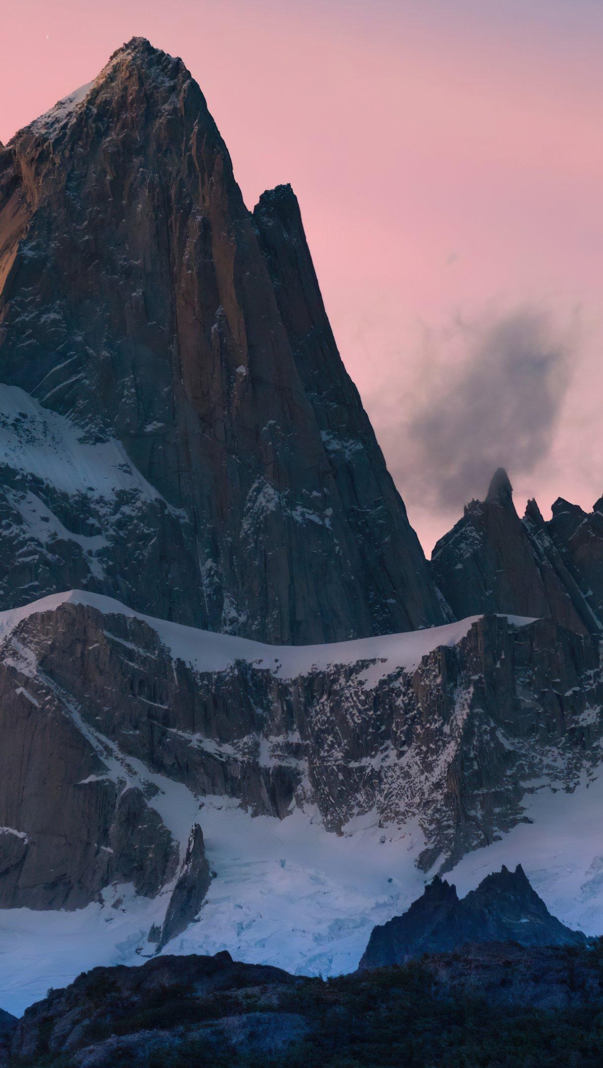 Fondos de pantalla Picos de montaña en Argentina Vertical