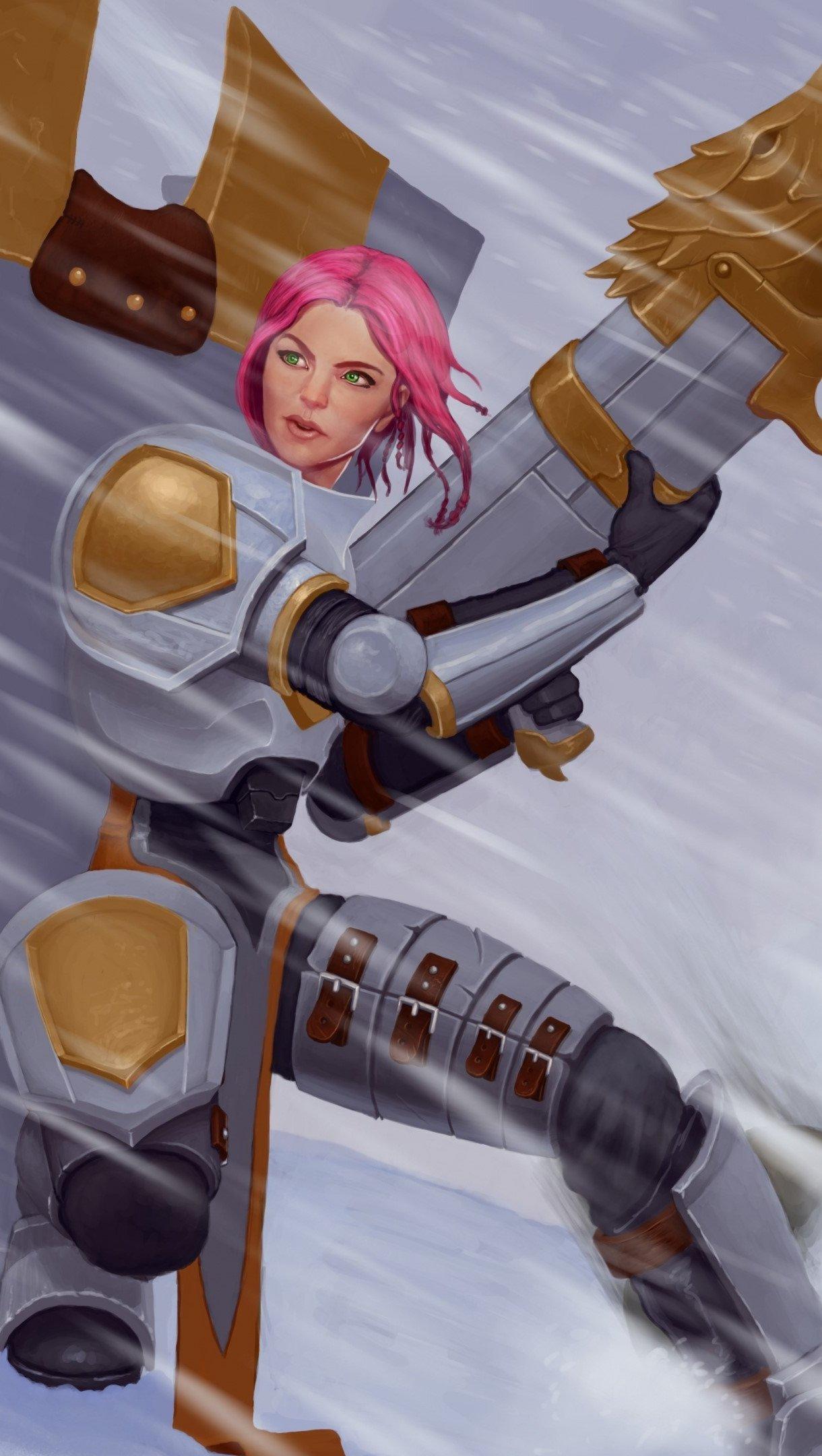 Fondos de pantalla Piltover Enforcer de League of Lengends Vertical